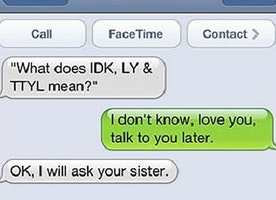 The 14 Funniest Texts Dad and Mom Have Ever Sent. These Always Make Me Laugh, No Matter How Many Times I Read Them.