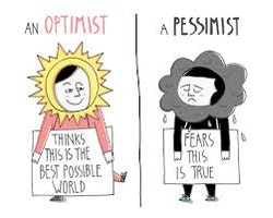 Being a Pessimistic and an Optimistic Person