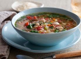 Tuscan Vegetable Soup : Ellie Krieger : Food Network