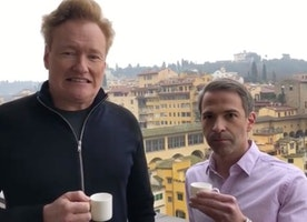 Check out this hilarious video, Coffee and Conan in Italy!