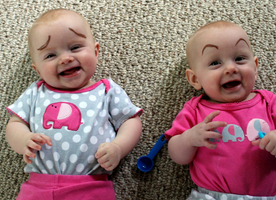 These 13 Babies with Eyebrows Will Make You Laugh