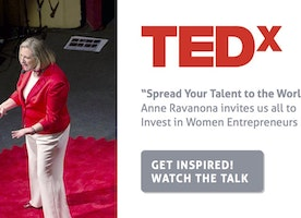 Spread Your Talent to the World: TEDx talk by Anne Ravanona on Investing in Women Entrepreneurs