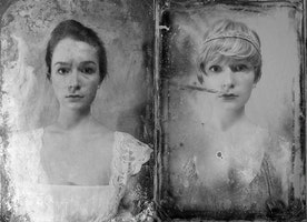 16-Year-Old Recreates High School Yearbook Photos from 1920's to Now