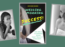 #MyDream is that every bride will learn something from my fly on the wall experience at 100's of wedding mornings through my new book: Wedding Morning Success!