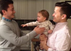 This Baby Can't Tell Her Dad Apart From His Twin! ADORABLE