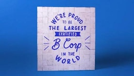 Danone North America becomes the largest Certified B Corporation® in the world.