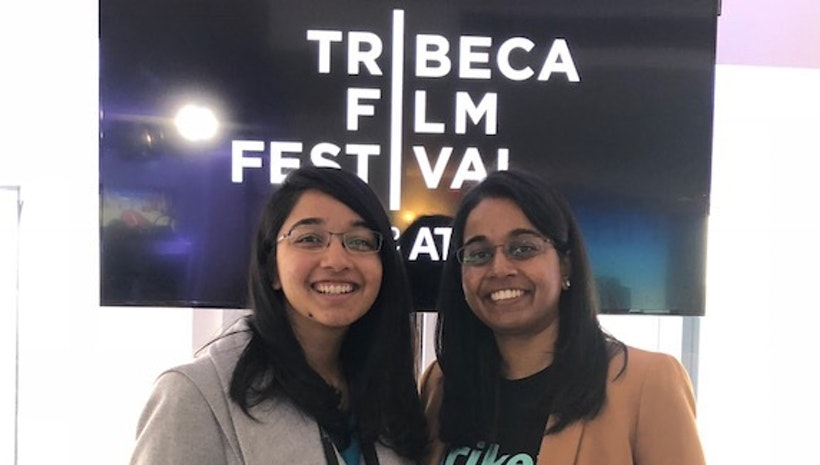 AR Founders Showcase the Krikey App at the 2018 Tribeca Film Festival
