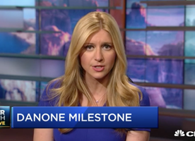 CNBC online: Danone's North America business hits key social, environmental milestone