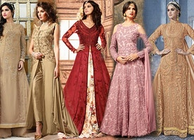 Trending Designer Indo Western Dresses Party Styles For Women