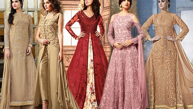 Trending Designer Indo Western Dresses Party Styles For Women - Mogul