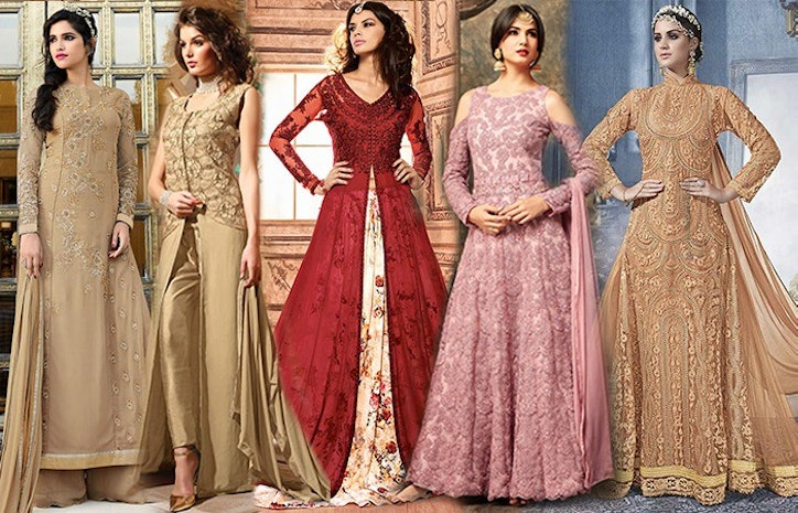 79c1a5b475 Trending Designer Indo Western Dresses Party Styles For Women - Mogul