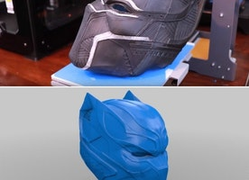 Create Your Own Black Panther Mask for the Upcoming Premiere