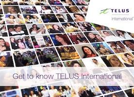 Get to know TELUS International