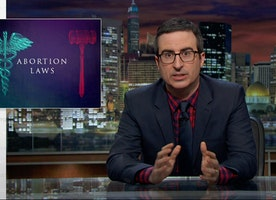John Oliver completely destroys abortion lawmakers by dropping truth bombs!