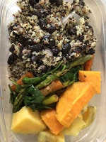 My First Vegetarian Meal Prep!