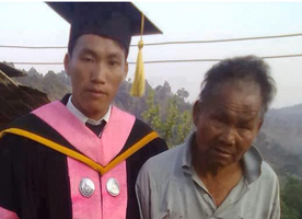This Picture of A Son and His Poor Father Will Bring Tears to Your Eyes