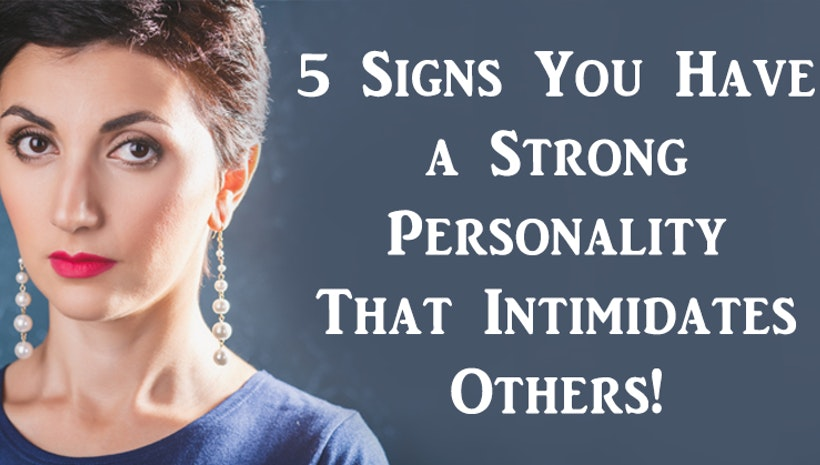 strong personality woman