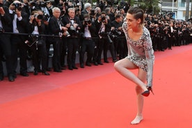 "Kristen Stewart Protests Cannes Film Festival ""Heel Rule,"" Goes Barefoot. Was It Disrespectful?"
