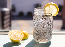 Why you should drink lemon, chia seeds, and water!