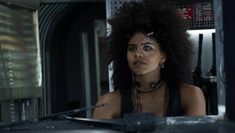 New Look at 'Atlanta' Star Zazie Beetz as Domino in DEADPOOL 2!