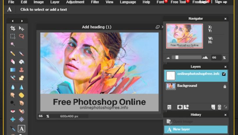 Online Photoshop Free Editing Tool [Photoshop Alternative]