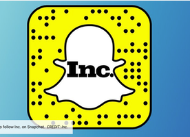 Shapeways is taking over Inc.'s Snapchat!