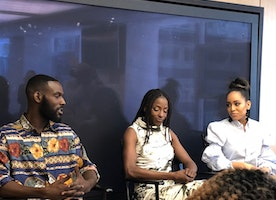 The Queen Sugar Luncheon at the OWN TV Network Offices May 21, 2018