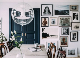 Tips And Ideas On How To Create A Picture Wall