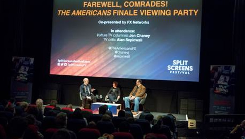 IFC Center Kicks Off Second Annual SPLIT SCREENS FESTIVAL with Sold Out Live Fan Viewing Party of THE AMERICANS - FULL FESTIVAL LINEUP INCLUDED