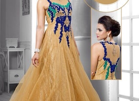 """Say """"I do"""" to Fashion with contemporary Gown for Women!"""