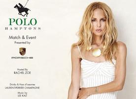 Rachel Zoe Will Host Annual Polo Hamptons Match & Event Presented by Porsche