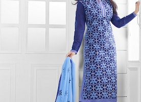 Chanderi Salwar Suits to as Better Ethnic Wear