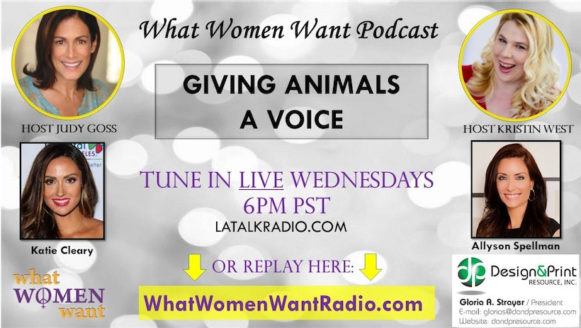 Giving Animals a Voice