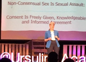 Sexual Assault will end when defining CONSENT begins!