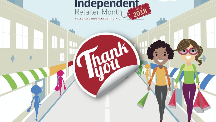 Summer is Here as July Starts Independent Retailer Month