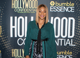 "Tiffany Haddish Receives the ""Trailblazer Award"" at Hollywood Confidential"