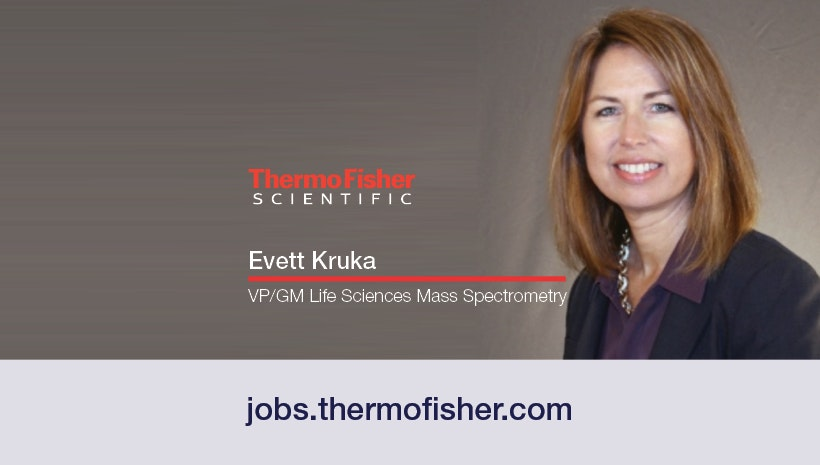 Learn more about Evett Kruka, VP/GM Life Sciences Mass Spectrometry at Thermo Fisher Scientific and the sacrifices she's had to make to get to where she is today. Evett shares inspiring advice and what she feels are important leadership qualities.