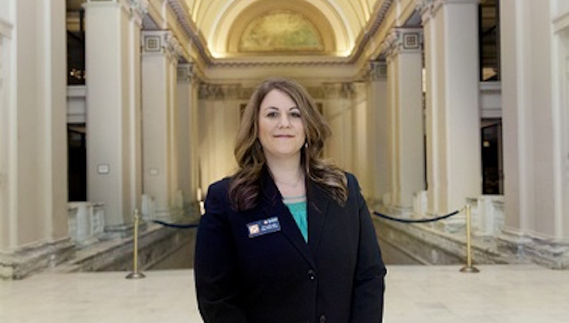 Dr. Amy Canida Goes to the Capitol!
