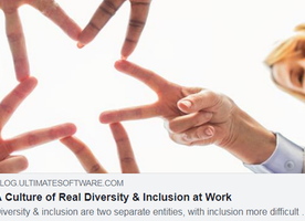 How to foster a culture of both diversity AND inclusion!