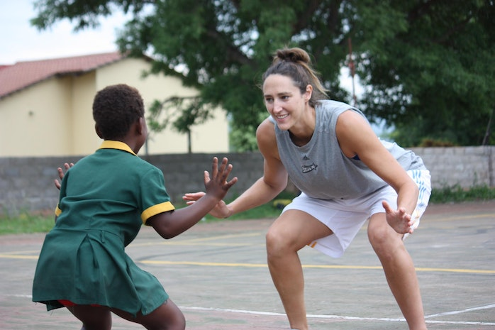 #IAmAMogul Because Sports Are A Powerful Platform To Build Girls' Confidence. By Ruth Riley