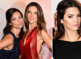 "Celebrity Cat Fight With Kardashian Youngster ""Unreal"" Says Victoria's Secret Adriana Lima"