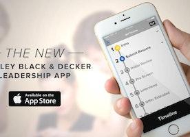 The NEW Stanley Black & Decker Leadership App