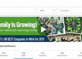 We are featured on Glassdoor's list! 14 Top Companies for Culture & Values Hiring Now