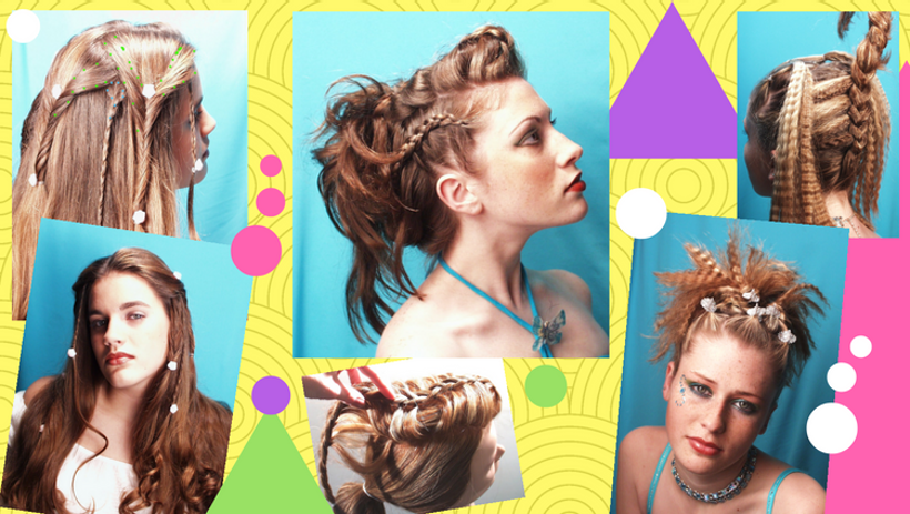 Learn how to do these hairstyles!