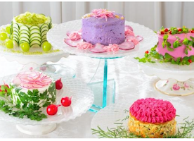 "I can't Believe These Are Not Cakes!!!!! Japanese Food Designer Creates ""SALAD"" Cakes"