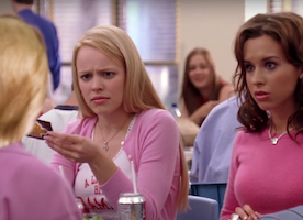 Did you see Donald Trump in Mean Girls?