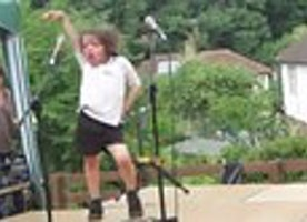 This Little Boy Lets His Inner Lady Gaga Shine Through at a School Recital and His Performance is Fabulous!