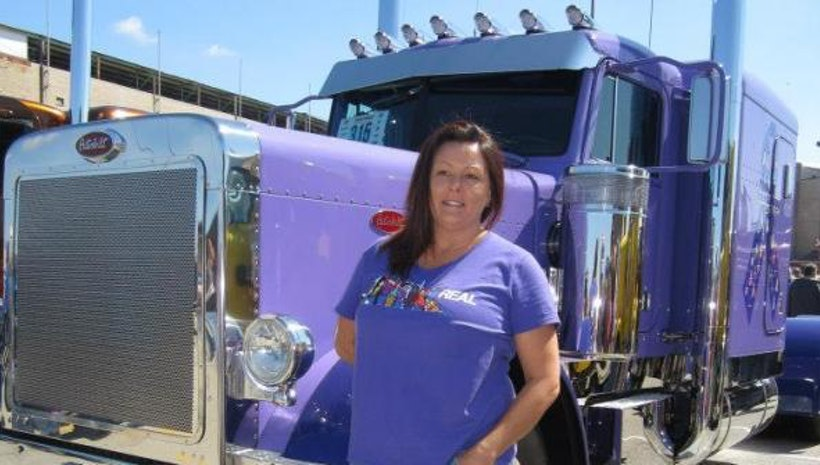Does a Woman Belong Behind the Wheel of a Truck?