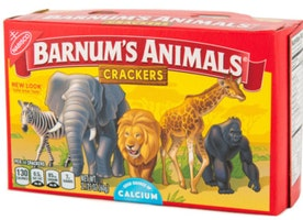 Rejoice! PETA Frees Barnum's Animal Crackers from Cages