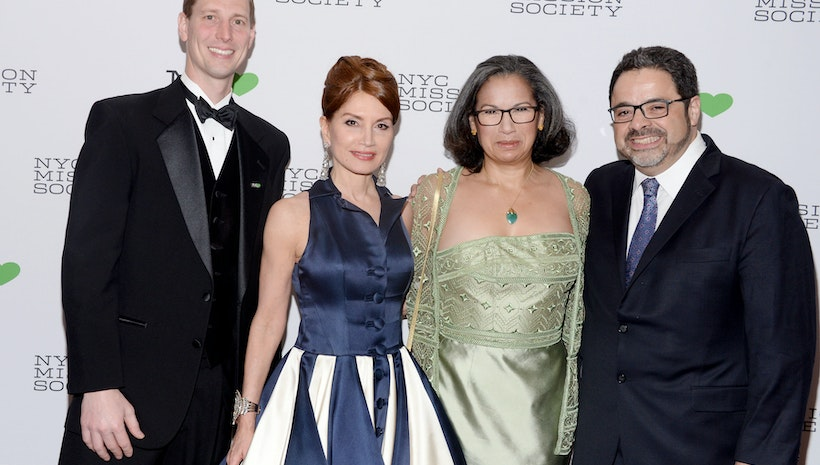 Dressed In B. Michael America, Jean Shafiroff Stuns While Chairing The NYC Mission Society Spring Gala